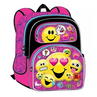 Emojination All the Feels 3D 12-Inch Backpack