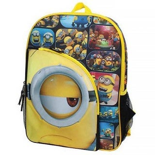 "Despicable Me Minions ""I See You"" 16-Inch Backpack"
