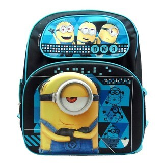 Despicable Me DM3 Minion Life 3D 16-Inch Backpack
