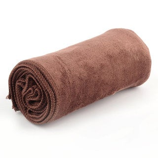 OUTAD Microfiber Towel with Carry Bag in Camel