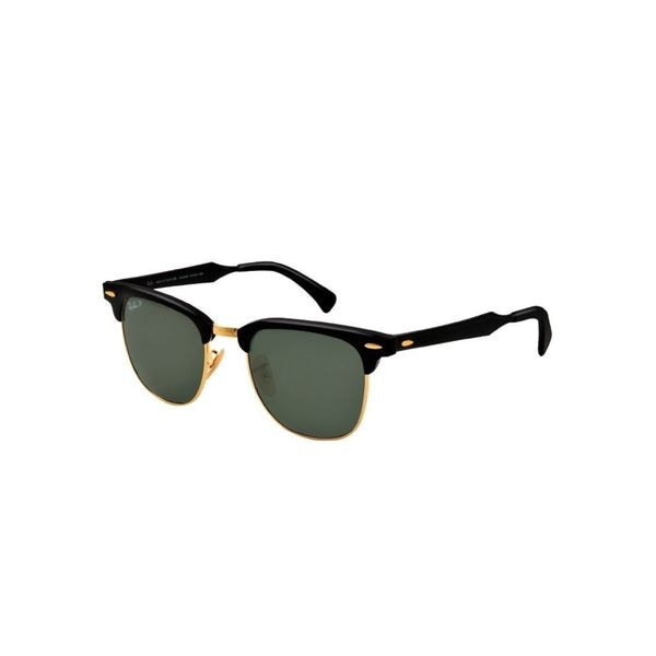 4961885265 ... sunglasses f503e 92e92  coupon code for ray ban clubmaster aluminum  polarized rb3057 unisex black frame green classic g15 lens