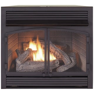 natural gas fireplace insert gas powered duluth forge dual fuel ventless fireplace insert 3200 btu tstat buy natural gas fireplaces online at overstockcom our best