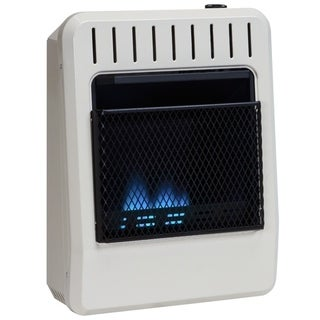 Avenger Dual Fuel Ventless Blue Flame Heater - 10,000 BTU, Model# FDT10BF