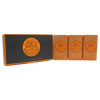 Crabtree & Evelyn Moroccan Myrrh Men's 5.3-ounce Triple Milled Soap (Pack of 3)