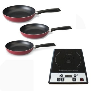 Induction 4pc Set: 3pc Red NS F/P set & Induct Rnge