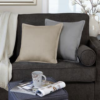 Essex Flange 18 Inch Decorative Throw Pillow Set of 4|https://ak1.ostkcdn.com/images/products/17116451/P23385004.jpg?impolicy=medium