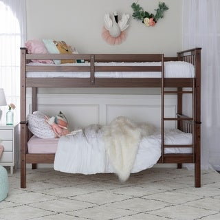 Twin over Twin Solid Wood Bunk Bed