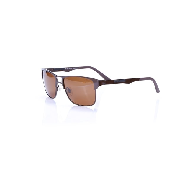 fd95281cfd6c8 Shop Toxic Eyewear TX126-10 Brown Handmade Frame Brown Polarized lenses  Prescription adaptable - Free Shipping Today - Overstock - 17116746