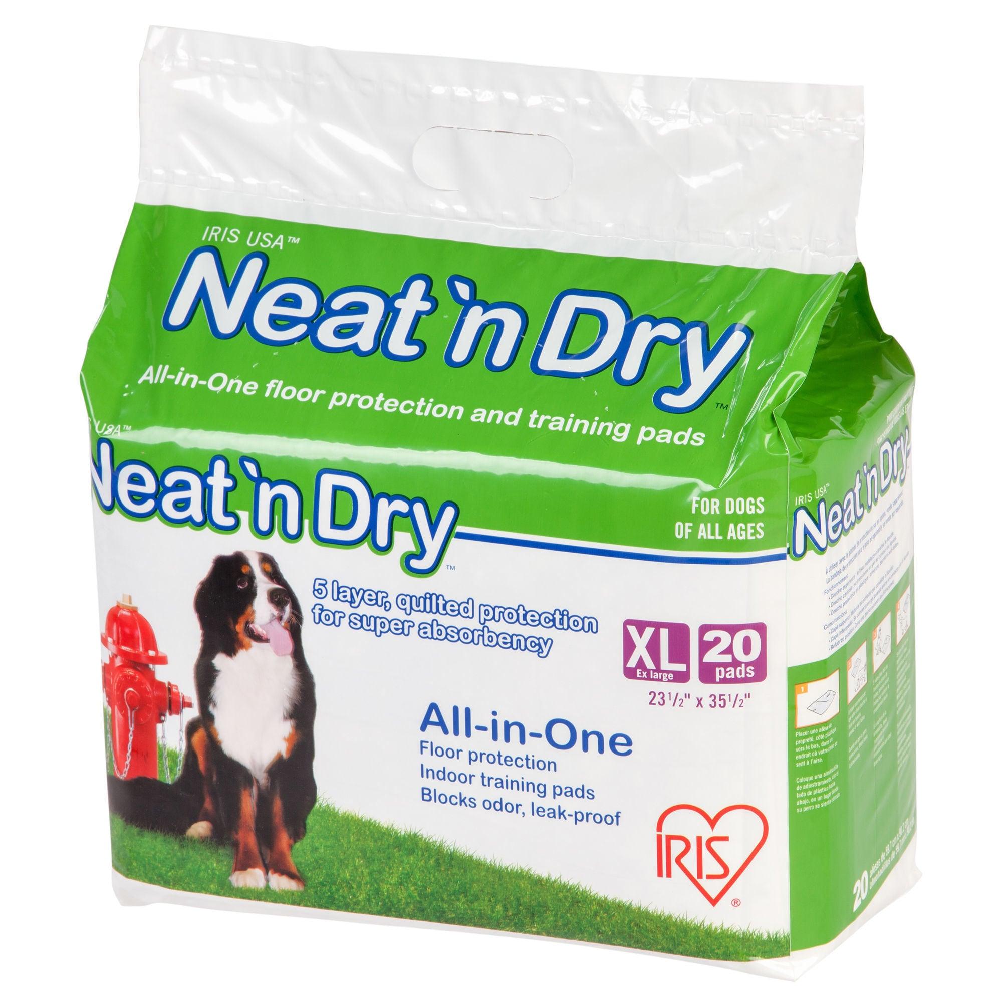 IRIS Neat 'n Dry Premium Extra Large Pet Training Pads (S...