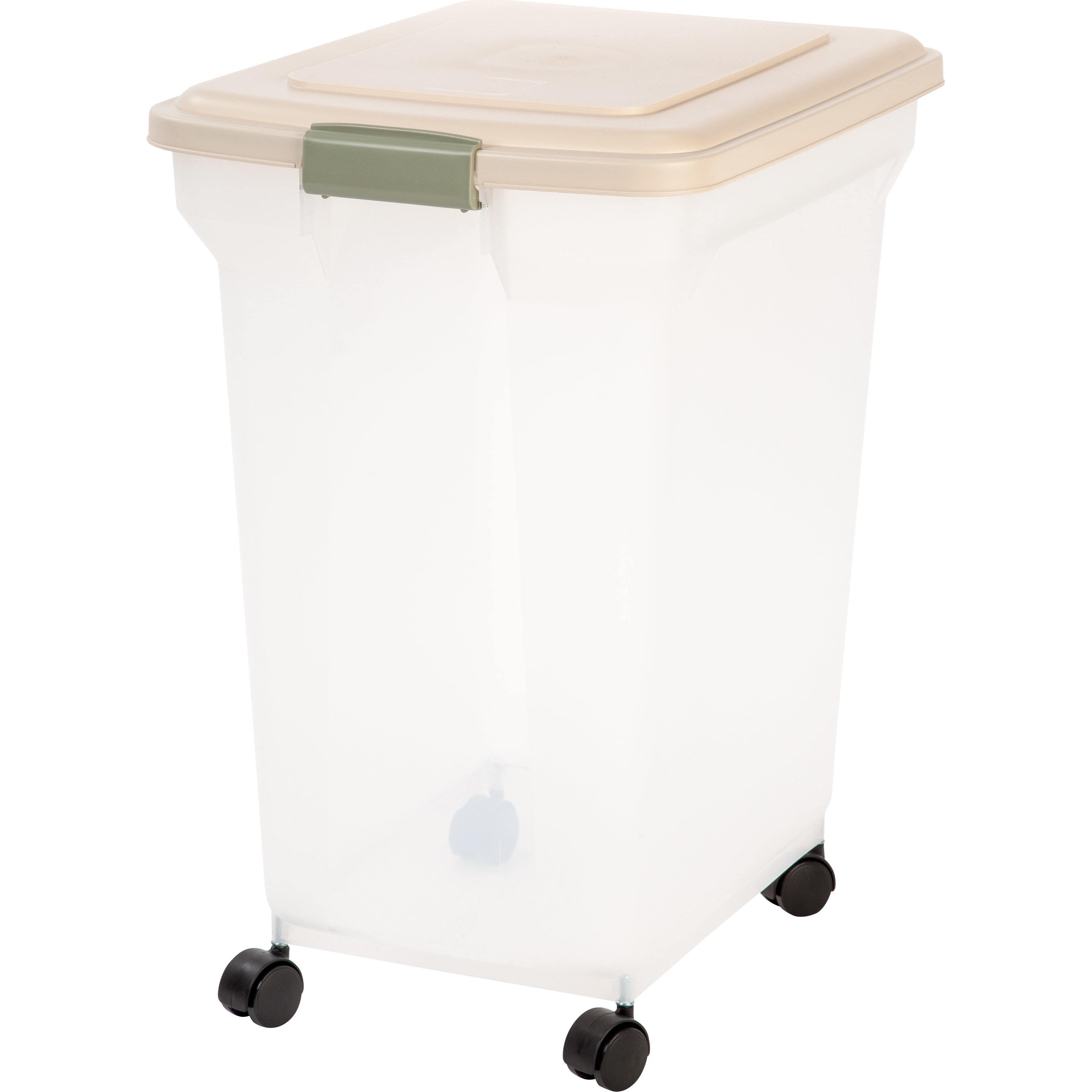 IRIS 67 Quart Airtight Pet Food Container (White)