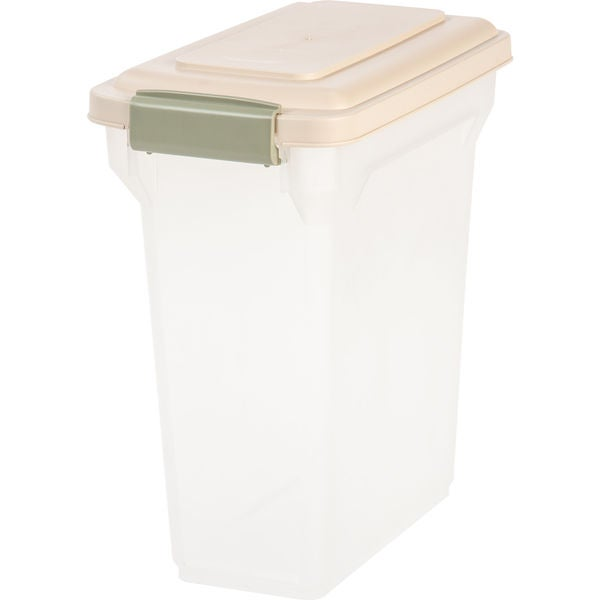 b9bd16497cf2 Shop IRIS 15 Quart Airtight Pet Food Container - Free Shipping On ...