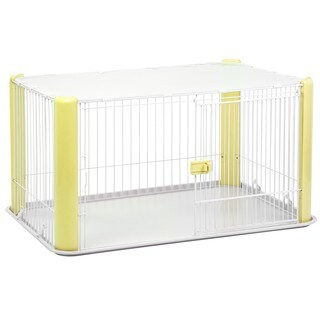 IRIS Large Wire Pet Play Pen with Roof
