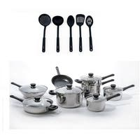 CooknCo 19 pc Cookware Set