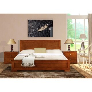 Oxford Bed in Cherry Finish (3 options available)