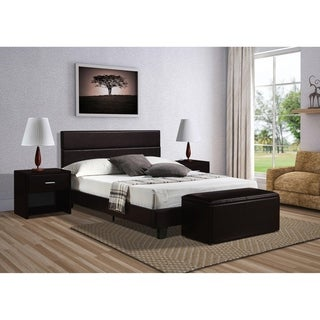 York Bed in Brown
