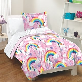 Dream Factory Unicorn 3-piece Comforter Set (2 options available)