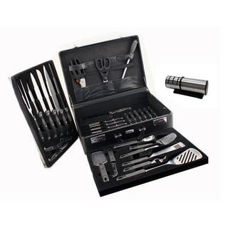 Geminis 32 pc Cutlery Set/ Case & Diamond Sharpener