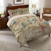 Laural Home Birds in Bloom Comforter Standard Sham