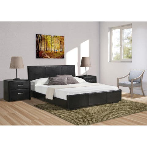 Abbey Bed in Black