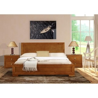 Oxford Bed in Oak (3 options available)