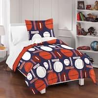 Dream Factory All Sports 3-piece Comforter Set