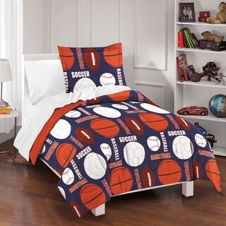 Dream Factory All Sports 3-piece Comforter Set