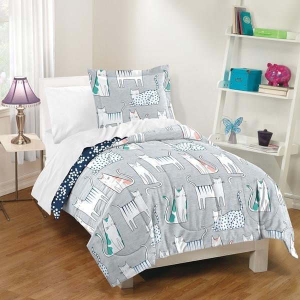 Dream Factory Purrfect Cats 3-piece Comforter Set