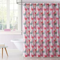 Laura Hart Kids Llama Llama Printed Shower Curtain