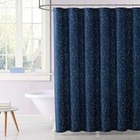 Laura Hart Kids Night Sky Printed Shower Curtain