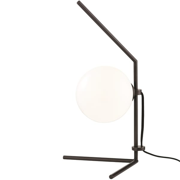 Mitzi by Hudson Valley Tori LED Old Bronze Table Lamp, Opal Glossy Glass