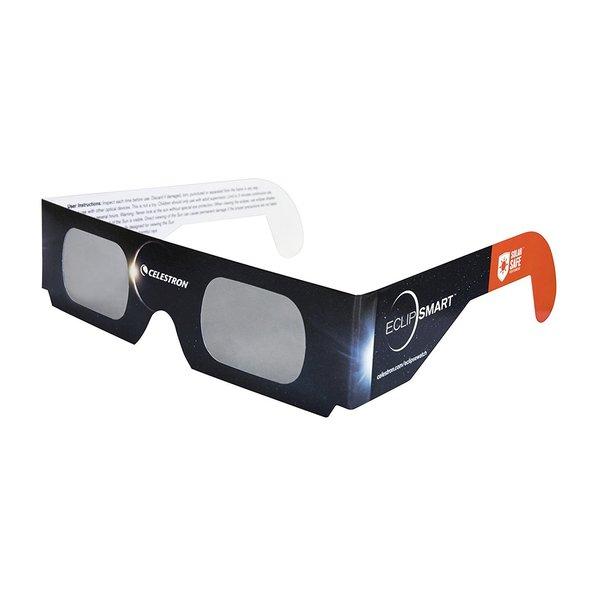 Celestron EclipSMART Solar Shades Paper Solar Viewing Glasses (1-Pair)