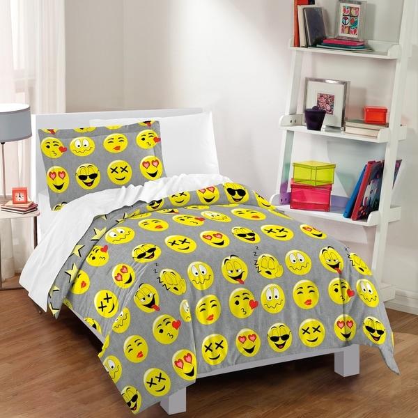 Dream Factory Emoji 3-piece Comforter Set