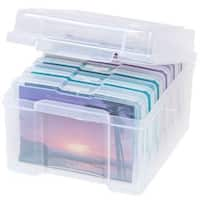 IRIS 4-inch x 6-inch Photo and Embellishement Craft Keeper, 6 Pack, Clear
