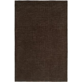 Echo Pine Bark Handmade Wool Area Rug (9' x 12')