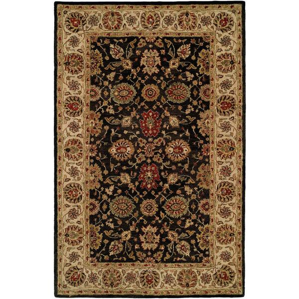 Shop Empire Hand Tufted Black Ivory And Rust Area Rug 3