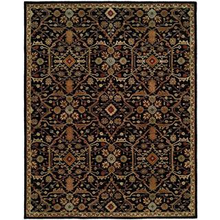 "Empire Onyx Hand-tufted Wool Area Rug (3'6 x 5'6) - 3'6"" x 5'6"""