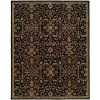 Empire Onyx Green Wool Hand-tufted Area Rug (6' x 9')