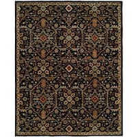 Empire Onyx Green Wool Hand-tufted Area Rug (9' x 12')