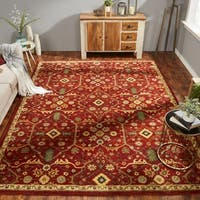 Empire Russet Hand-tufted Wool Area Rug (2' x 3') - 2' X 3'