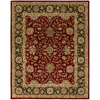 Empire Rust/ Brown Wool Hand-tufted Area Rug (2' x 3') - 2' X 3'