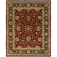 "Empire Rust/Brown Hand-tufted Area Rug (9'6 x 13'6) - 9'6"" x 13'6"""