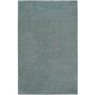 Nova Blue Mist Handmade Area Rug (9' x 12')
