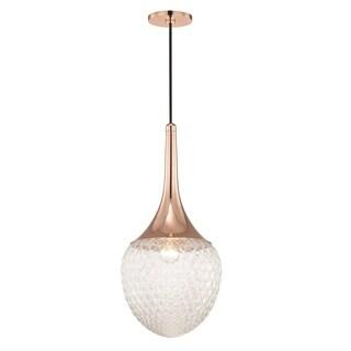Mitzi by Hudson Valley Bella Polished Copper 1-light Pendant