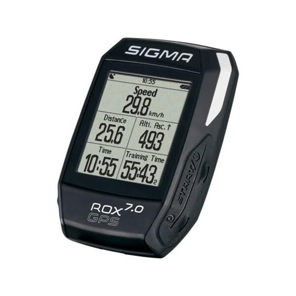 Sigma ROX GPS 7.0 Cycling Computer - Black - 01004