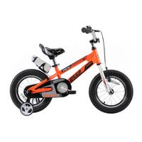 RoyalBaby Space No. 1 Aluminum Kids Bikes,  Boy's Bike and Girl's Bicycles, Gift for Kids, Orange
