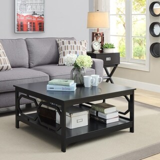 Convenience Concepts Omega 36-inch Square Coffee Table