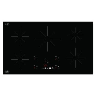 Ancona Chef 36 in. Glass-Ceramic Induction Cooktop with Boost Function