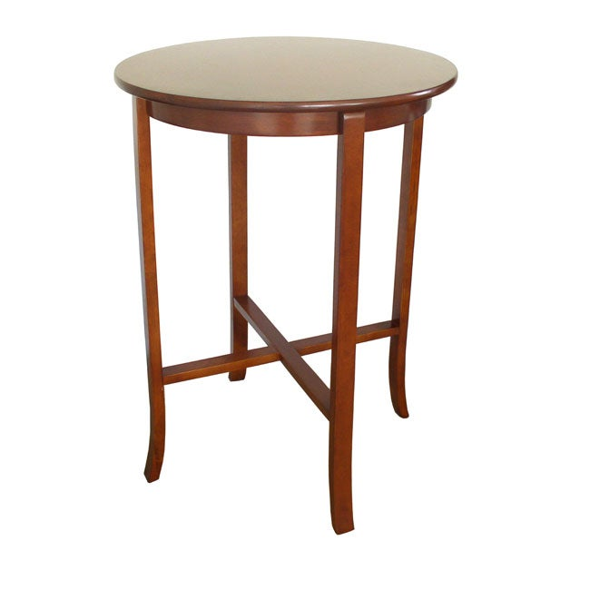 Round Dining Table Set For 2 Classic York Cherry Pub Table - Free Shipping Today - Overstock.com ...