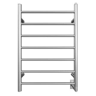 Ancona Comfort Wall Mount Hardwire Towel Warmer in Brushed Chrome