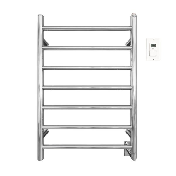 Ancona Comfort Wall Mount Hardwire Towel Warmer with Timer in Chrome